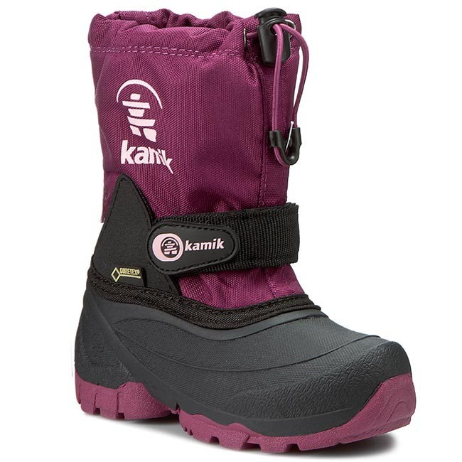 3fb7590c92e Snow Boots KAMIK - Waterbug5G GORE-TEX NK8237 Berry - Trekker boots - High  boots and others - Girl - Kids' shoes - efootwear.eu