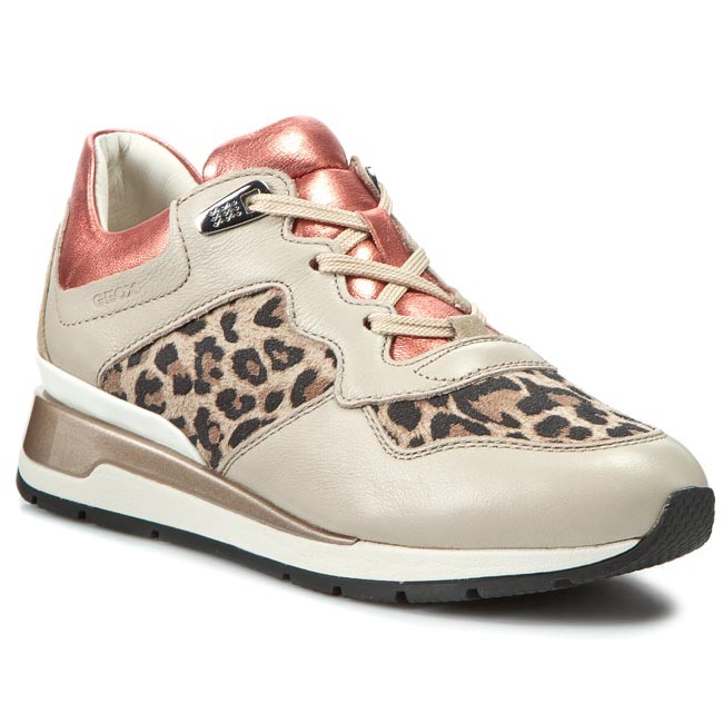 Sneakers GEOX D Shahira A D44N1A 0TKKY CH67G Lt TaupeCoral