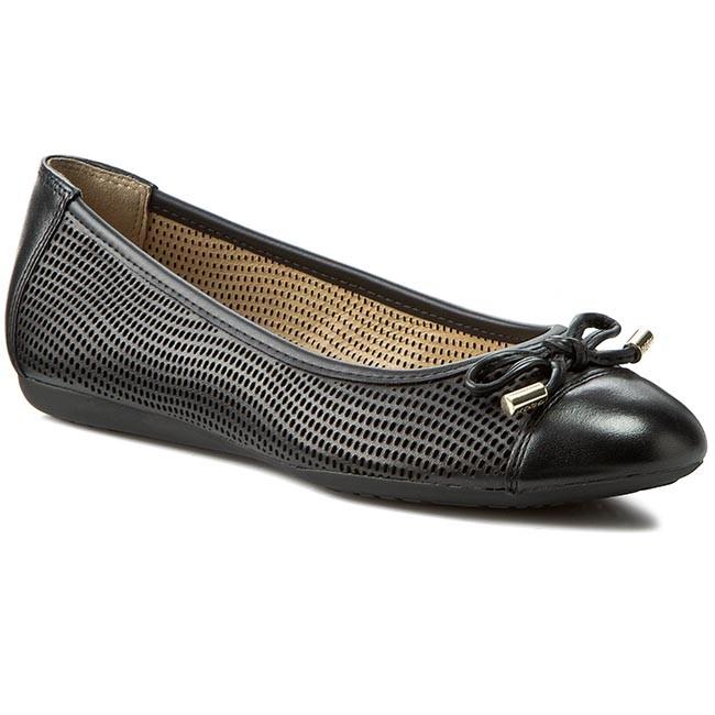 Norma Egipto lino  Flats GEOX - D Lola A D62M4A 0KF43 C9999 Black - Ballerina shoes - Low  shoes - Women's shoes | efootwear.eu