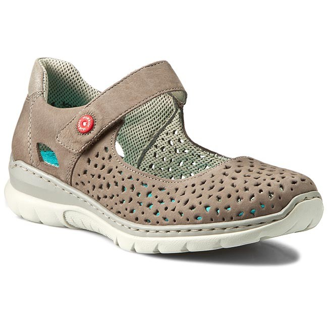 new concept 002bf fd4aa Shoes RIEKER - L3255-44 Grey