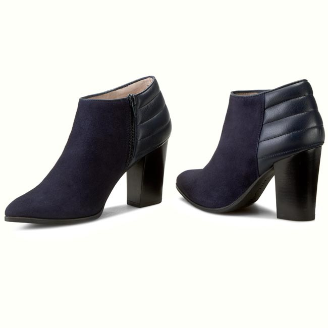 Boots UNISA Perseo Ks Ri Baltic Kid Suede Navy Blue