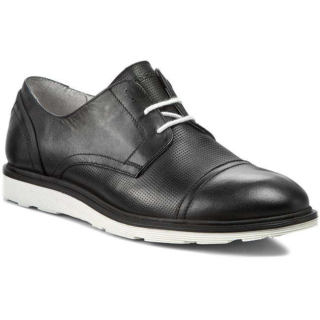 pretty nice 395bd 06622 Shoes STRELLSON - Baxter Derby Lace I Calf 4010001860 Black
