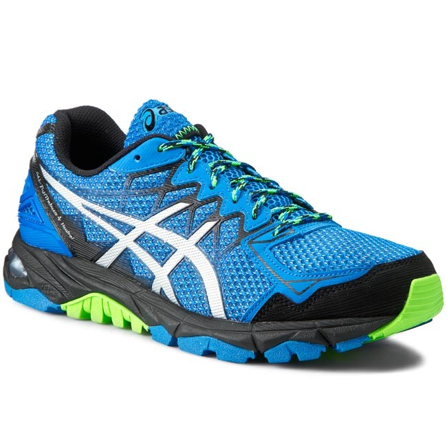 soporte Amasar inteligencia  Shoes ASICS - Gel-Fuji Trabuco 4 Neutral T5L3N Electric Blue/Silver/Black  3993 - Outdoor - Running shoes - Sports shoes - Men's shoes | efootwear.eu