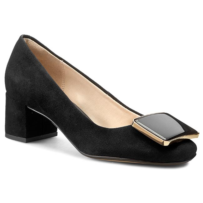 sonido Favor impaciente  Shoes CLARKS - Chinaberry Fun 261178204 Black Sde - Heels - Low shoes -  Women's shoes | efootwear.eu