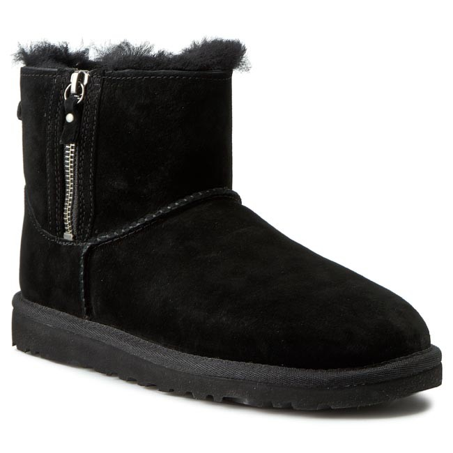 Shoes UGG W Classic Mini Double Zip 1009861 Black