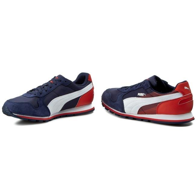 vacío surco maduro  Sneakers PUMA - St Runner Nl Geometry 360130 02 Peacoat/Grenadine -  Sneakers - Low shoes - Men's shoes   efootwear.eu