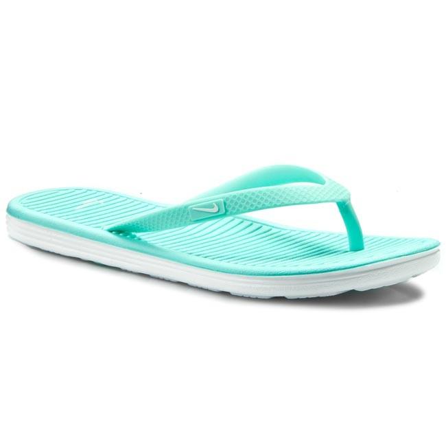 buy online 1c9d9 a3827 Slides NIKE - Solarsoft Thong 2 488161 314 Hyper Turq/White