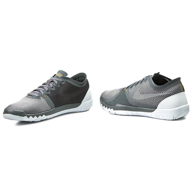 sports shoes 59373 d83b9 Shoes NIKE - Free Trainer 3.0 V4 749361 007 Drk Grey/Wlf Gry/Mtllic Gld/Blk