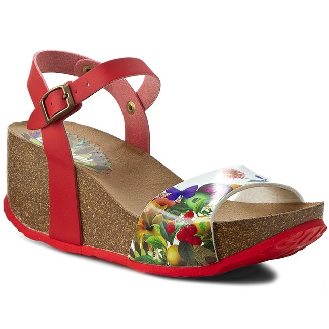 various design pretty cool official supplier Sandals DESIGUAL - Shoes Bio 7 Sandal 61HS5G1/3074 Red