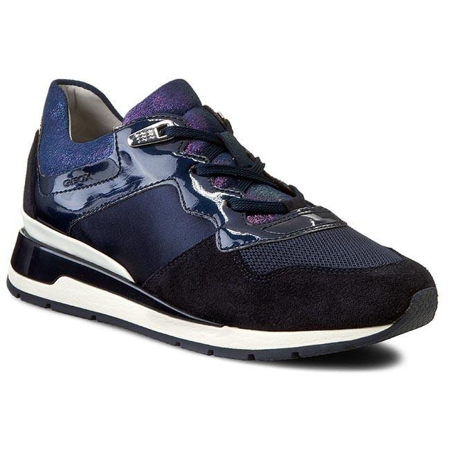 Sneakers GEOX - D Shahira A D44N1A 02211 C4002 Navy - Sneakers - Low shoes  - Women's shoes | efootwear.eu