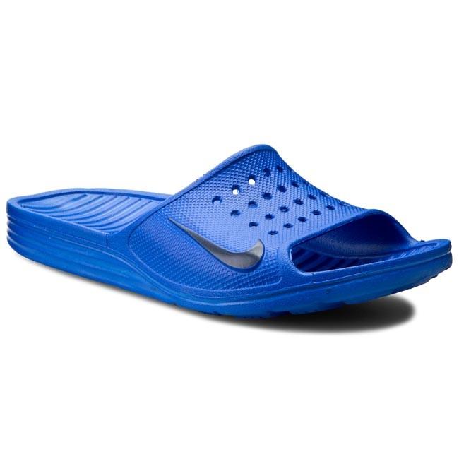 Slides Nike Solarsoft Slide 386163 440 Racer Blue