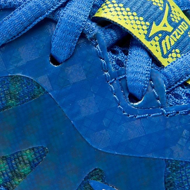 mizuno wave elevation blue