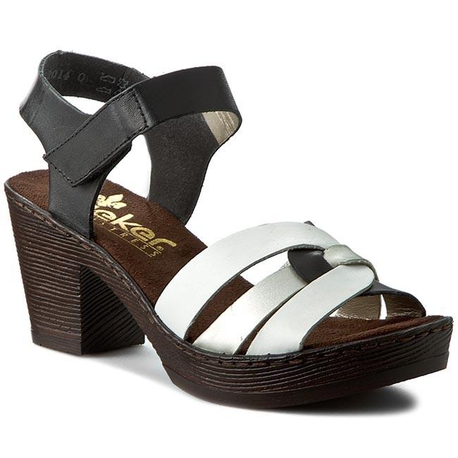 128ce4003 Sandals RIEKER - 66763-80 White Combination - Casual sandals - Sandals -  Mules and sandals - Women's shoes - efootwear.eu