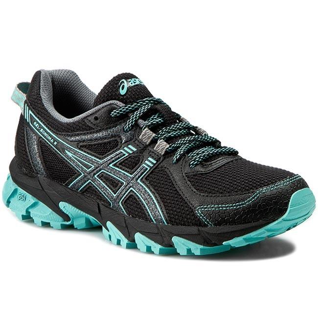 Shoes ASICS Gel Sonoma 2 T684N BlackOnyxPool Blue 9099