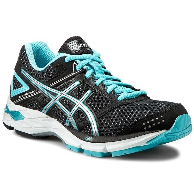 Shoes ASICS - Gel-Phoenix 7 T5M5N Black/Silver/Turquoise 9093
