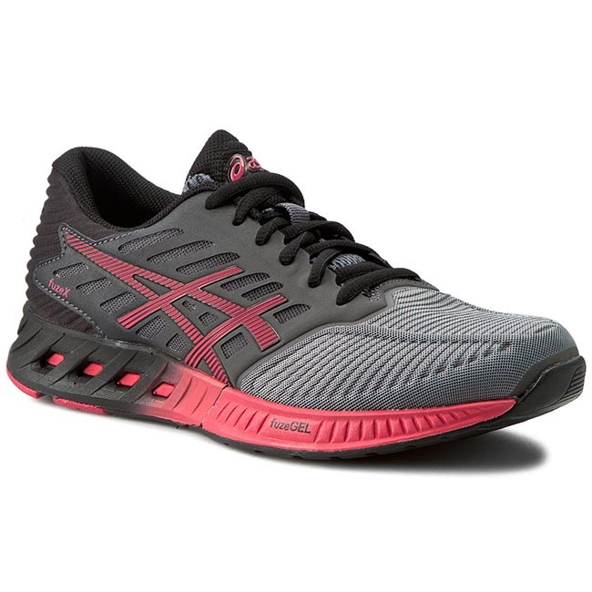 Shoes ASICS - FuzeX T689N Titanium
