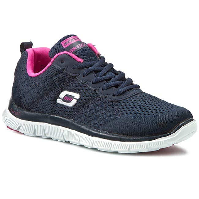 skechers sportflex appeal obvious choice sneaker low black