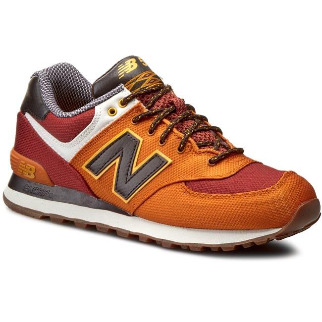 nowa wysoka jakość najlepiej autentyczne konkretna oferta Sneakers NEW BALANCE - Classics ML574EXD Dark Red Orange