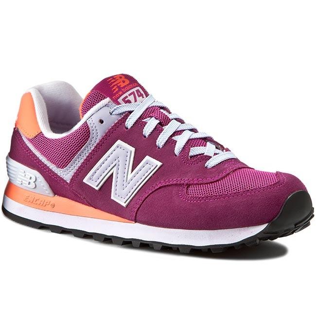 uznane marki dobra tekstura styl mody Sneakers NEW BALANCE - Classics WL574CPI Pink