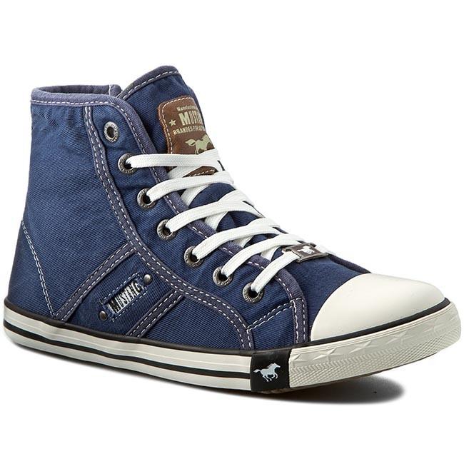sports shoes e9e09 7fc07 Sneakers MUSTANG - 36C0041 Jeansblau