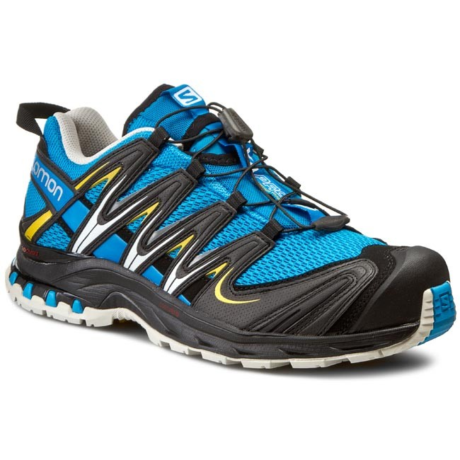 Shoes SALOMON Xa Pro 3D 370793 27 v0 Methyl BlueLight greyBlack