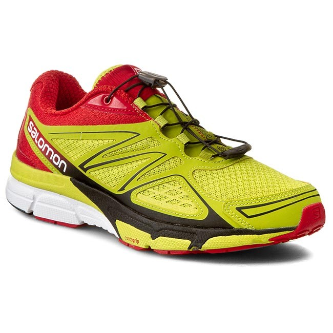 Shoes SALOMON X Scream 3D 368892 27 W0 Gecko GreenBright RedBlack