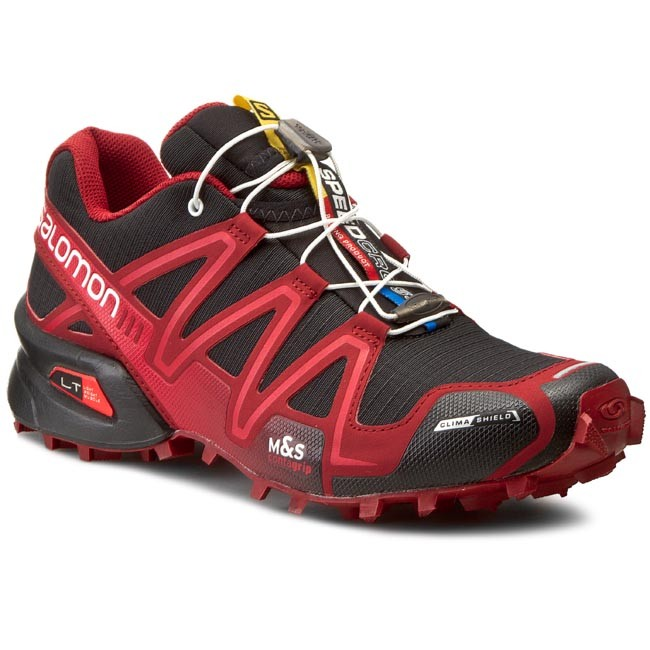 Shoes SALOMON Speedcross 3 Cs 373206 27 G0 BlackFleaWhite