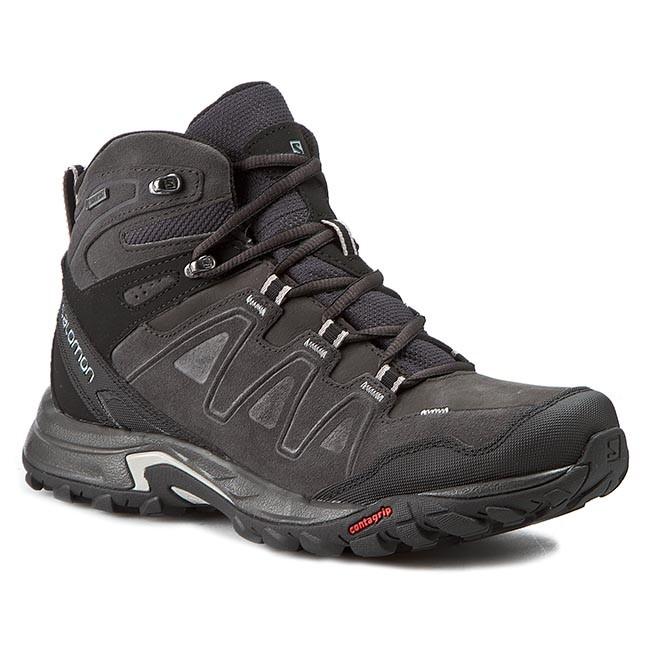 Trekker Boots SALOMON Eskape Mid Ltr Gtx 373287 27 V0 AsphaltAsphaltAluminium