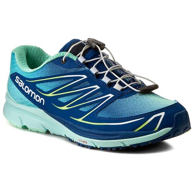 Shoes SALOMON Sense Mantra 3 W 373197 20 W0 GentianeIgloo BlueFirefly Green