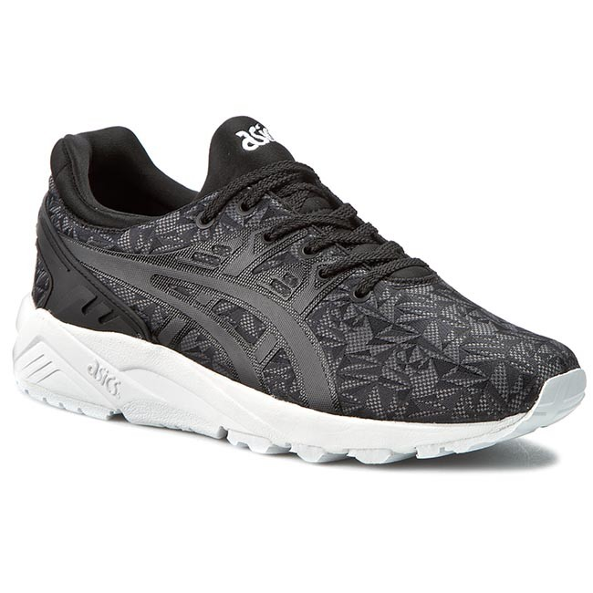 Arado Acuario Huérfano  Shoes ASICS - Gel-Kayano Trainer Evo H621N Black/Dark Grey 9016 - Sneakers  - Low shoes - Men's shoes | efootwear.eu