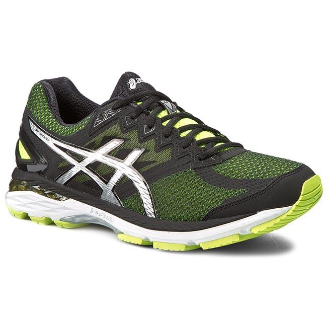 Shoes ASICS - Gt-2000 4 T606N Flash Yellow/Black/Silver 0790