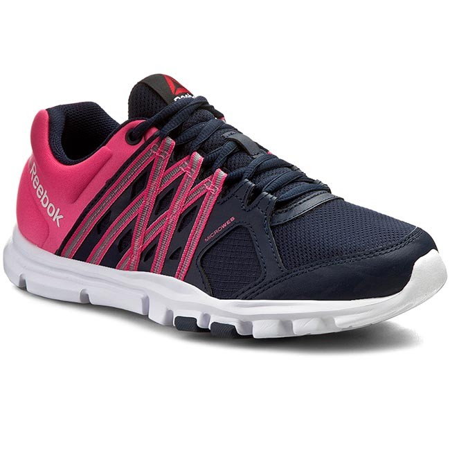 Shoes Reebok Yourflex Trainette 8.0 V72512 NavyPinkWhite