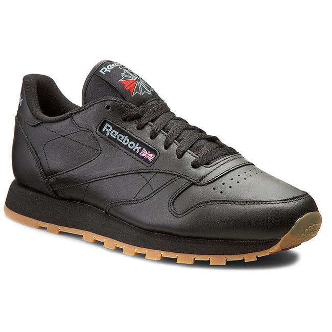 Shoes Reebok - Cl Lthr 49800 Black/Gum