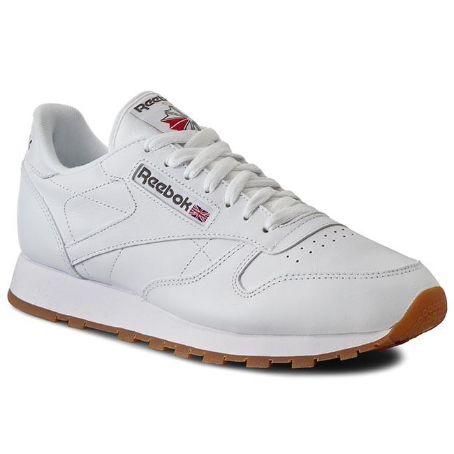 Shoes Reebok - Cl Lthr 49799 White/Gum