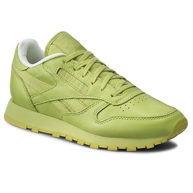 Dialecto Cordelia alimentar  Shoes Reebok - Cl Lthr Spirit V69387 Authentic/White/Energy - Flats - Low  shoes - Women's shoes   efootwear.eu