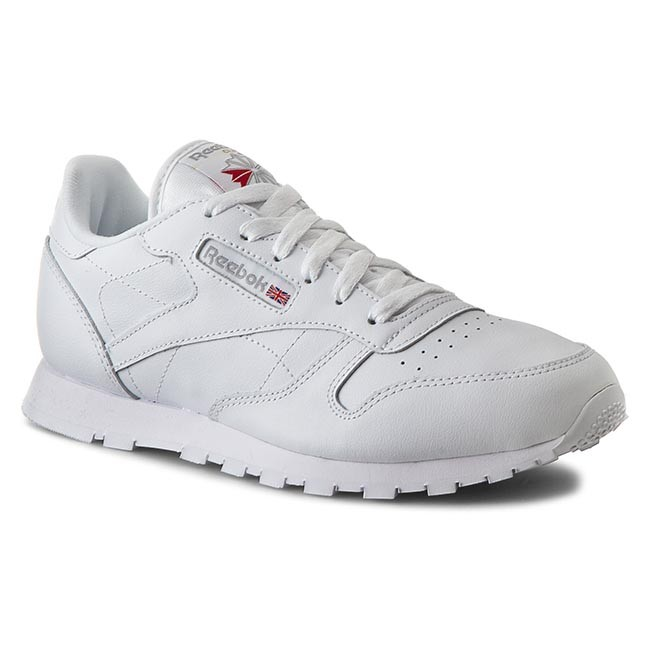 Classic 50151 Shoes White Reebok Leather 80wNnPkOX