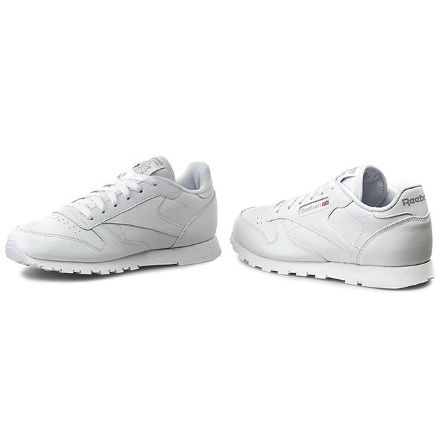 Shoes Reebok Classic Leather 50151 White Sneakers Low