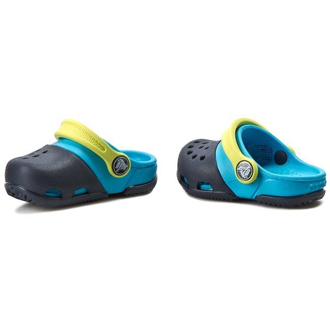 Crocs Electro Clog 10 M US Little Kid Navy//Electric Blue