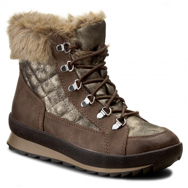 Snow Boots CAPRICE - 9-26200-27 Dk Brown