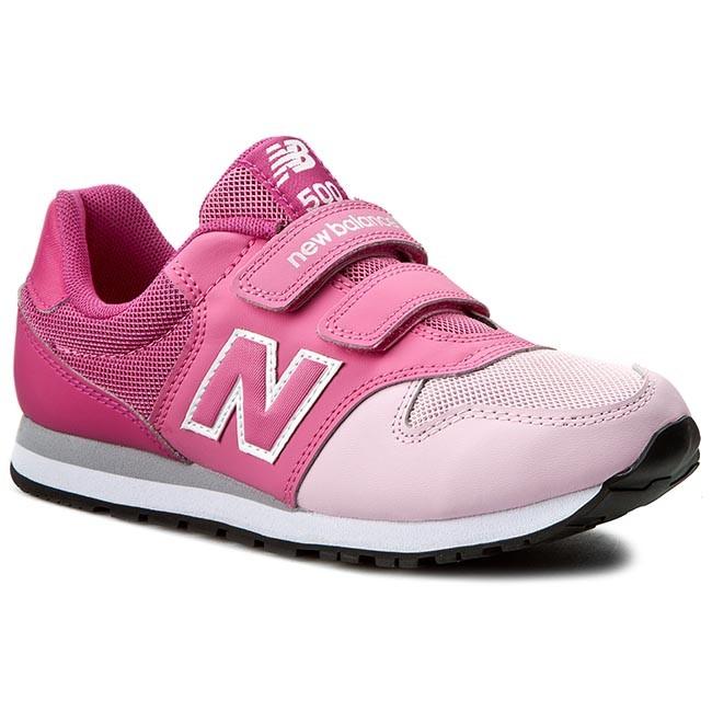 Ejercicio mañanero Volver a disparar Oxidar  Sneakers NEW BALANCE - KV500PKY Pink - Velcro - Low shoes - Girl - Kids'  shoes   efootwear.eu