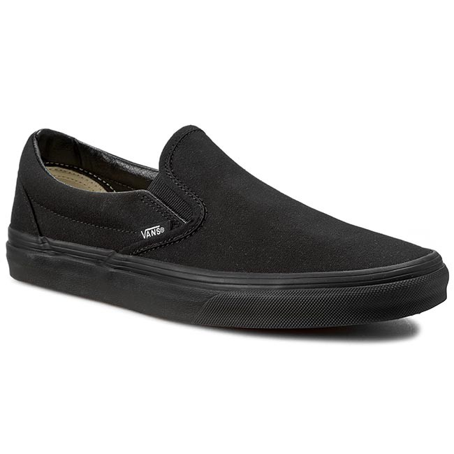 Vans shoes Classic Slip On (Premium Leather) Black Black