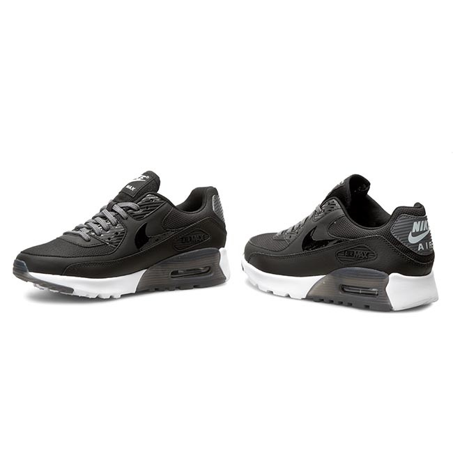 Shoes NIKE Air Max 90 Ultra Essential 724981 007 BlackDark GreyPr Pltnm