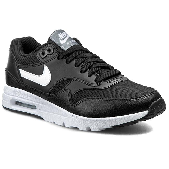 Shoes NIKE Air Max 1 Ultra Essentials 704993 007 BlackWhiteStealthPr Pltnm