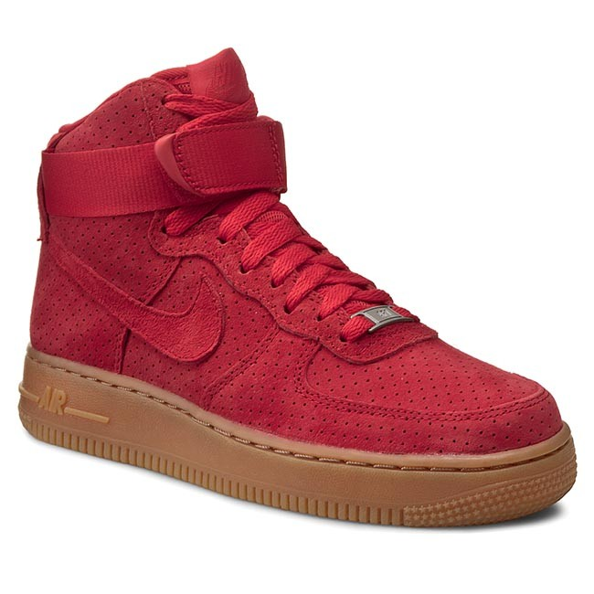 Shoes NIKE Air Force 1 Hi Suede 749266 601 Red