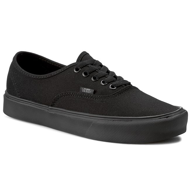 Plimsolls VANS Authentic Lite + VN0004OQ186 (Canvas) Black