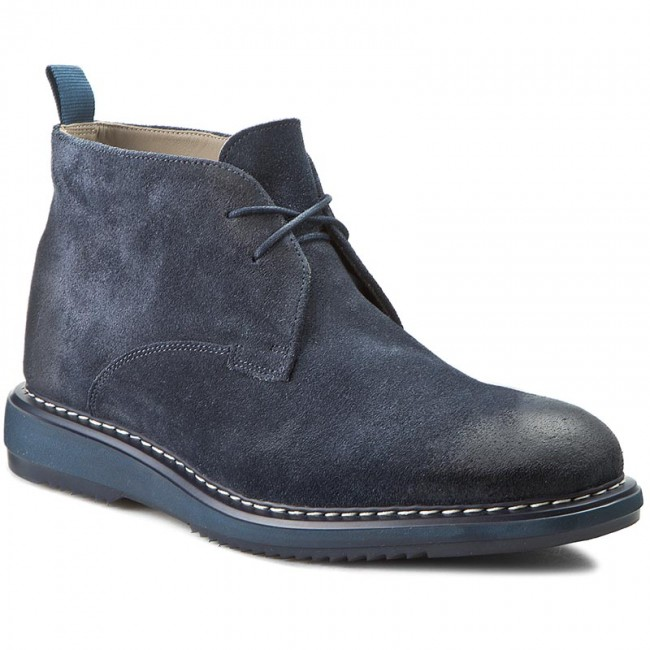 info for high quality sleek Boots CLARKS - Kenley Mid 261206977 Navy Suede