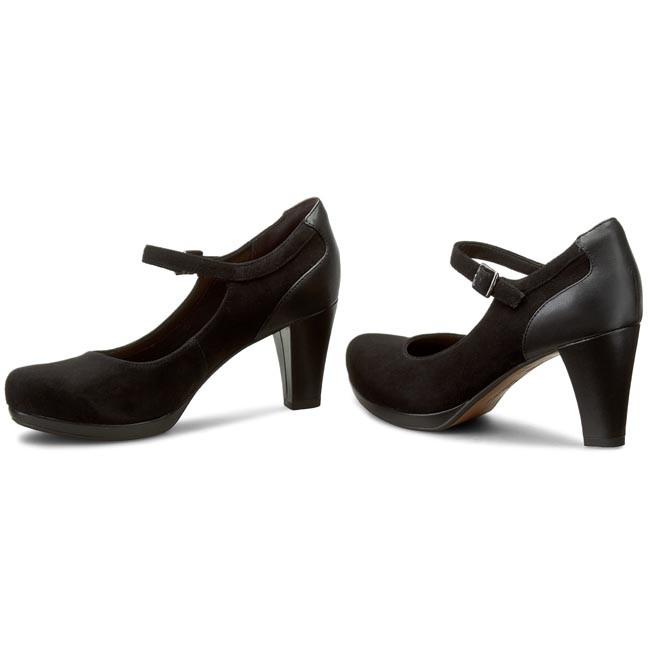 Black Chorus Halo 261194684 Suede Clarks Shoes nym0O8vwN