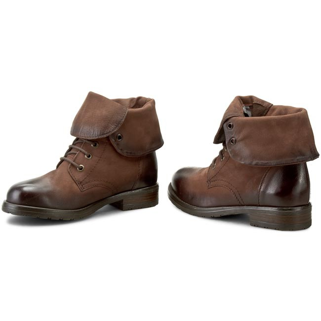 Boots CLARKS Minoa River 261198834 Brown Leather