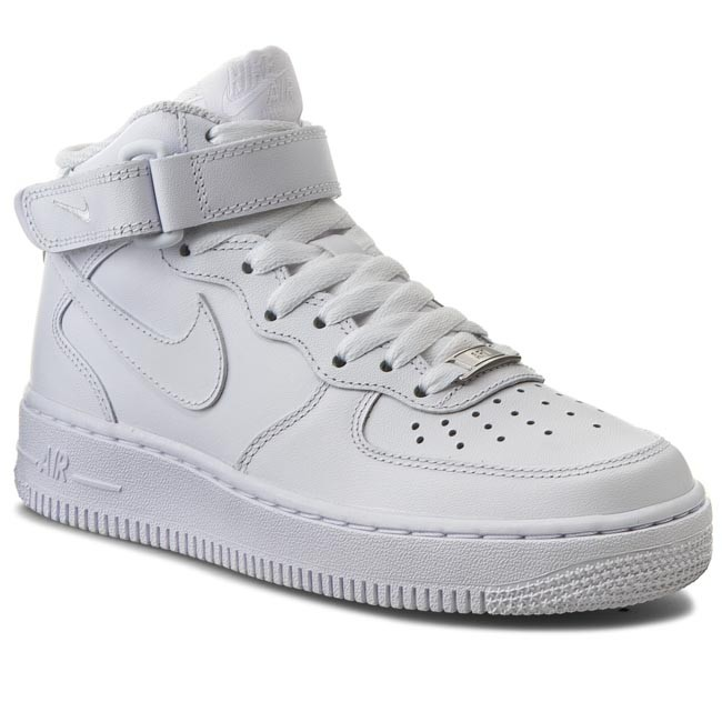 Shoes NIKE Air Force 1 Mid '07 LE 366731 100 WhiteWhite