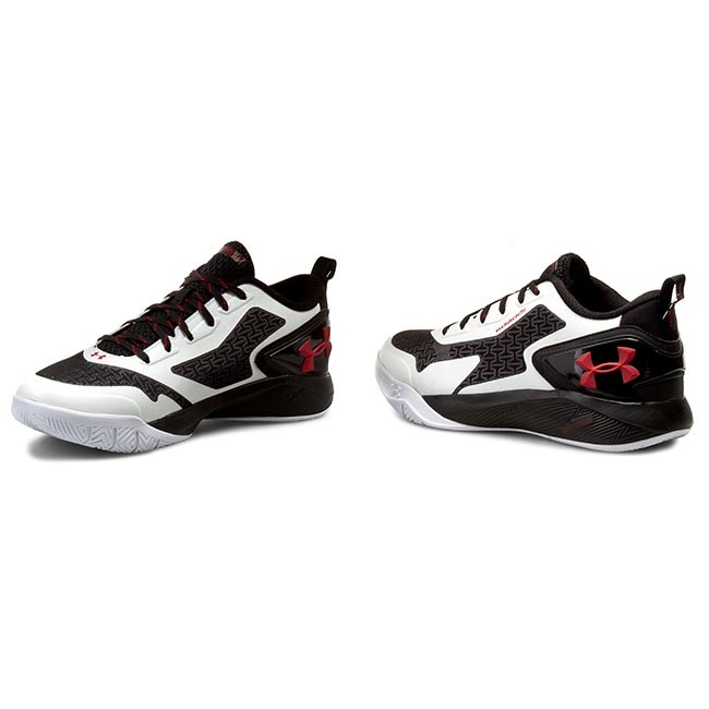 new style 31bc5 bb5be Shoes UNDER ARMOUR - Ua Clutchfit Drive 2 Low 1264221-100 Wht/Blk/Red
